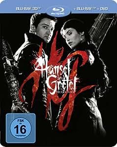 Hänsel und Gretel: Hexenjäger (Steelbook, exklusiv bei Amazon.de) (+ Blu-ray Extended Cut + DVD) [Blu-ray 3D] [Limited Edition]