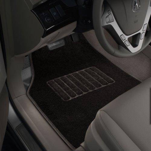 Nylon Carpet Coverking Custom Fit Rear Floor Mats for Select Hummer H3T Models Black