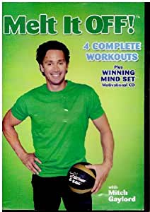 Melt It Off! - 4 Complete Workouts Plus Winning Mindset Motivational CD with Mitch Gaylord