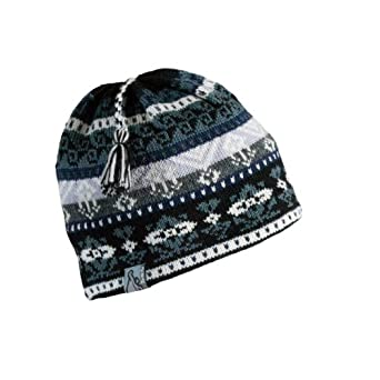 Buy Turtle Fur - Ladies Into the Mystic, Classic Wool Ski Hat Tassel Beanie by Turtle Fur