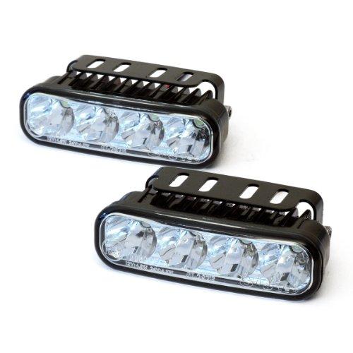devil eyes 610758 LED Tagfahrlicht eckig ECE R87 2 X 4 LEDs