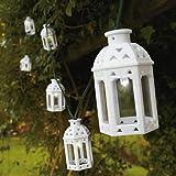 Modern Home Solar LED String Lights - Moroccan Lanterns
