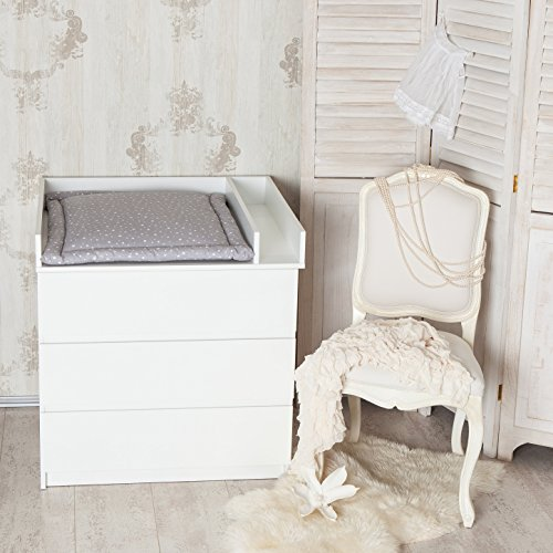 fasciatoio con divisorio extra adatto a tutte le cassettiere ikea malm bianco senza. Black Bedroom Furniture Sets. Home Design Ideas