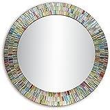 Decorative Smith Glass Wall Mirror (Pack Of 3) - (Rainbow Rhapsody)