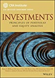 img - for Investments: Principles of Portfolio and Equity Analysis book / textbook / text book
