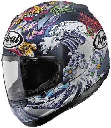 51iMfgNn6gL Arai RX Q Oriental Blue Matte Helmet (M) Reviews