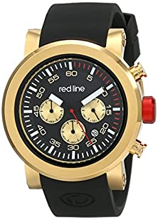 buy Red Line Men'S Rl-50050-Yg-01 Torque Sport Analog Display Japanese Quartz Black Watch