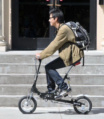 VeloMini 3 Speed Compact Folding Electric Bicycle