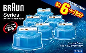 ブラウン アルコール洗浄液 メンズシェーバー用 6個入り CCR6 CR 正規品