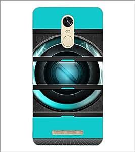 PrintDhaba Speaker D-3493 Back Case Cover for XIAOMI REDMI NOTE 3 PRO (Multi-Coloured)