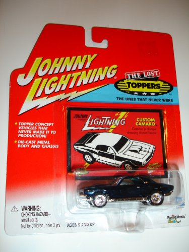 2001 Johnny Lightning Custom Camaro Lost Toppers Prototype - 1