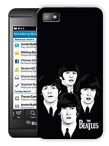 "Minimalistic Beatles Rock Printed Designer Mobile Back Cover For ""Blackberry Z10"" By Humor Gang (3D, Matte Finish, Premium Quality, Protective Snap On Slim Hard Phone Case, Multi Color)"