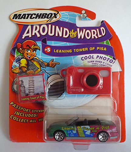 2003 Matchbox Around The World Collection # 5 Leaning Tower Of Pisa