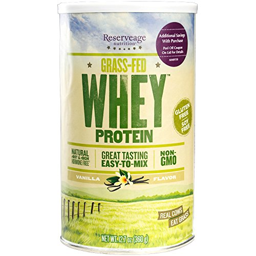 Reserveage Nutrition - Grass Fed Whey Protein