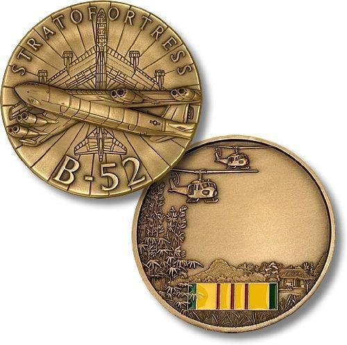 B-52 Stratofortress / Vietnam Engravable Challenge Coin