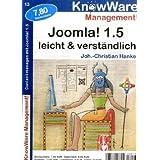 """Joomla 1.5 leicht & verst�ndlichvon """"Johann-Christian Hanke"""""""
