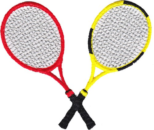 Application Sports Tennis Racquets Patch - 1