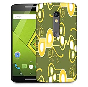 Snoogg Pattern Multicolor Design Designer Protective Phone Back Case Cover For Motorola Moto X Play