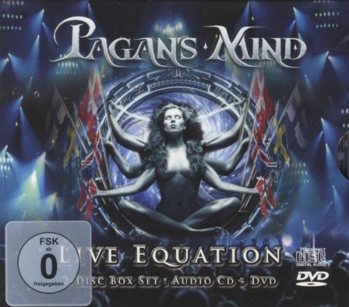 Live Equation (Cd+dvd) by Pagan's Mind (2009-11-09)