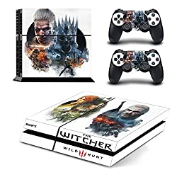 AL Pacino Witcher 3 wild hunt Theme cover sticker for Playstation 4