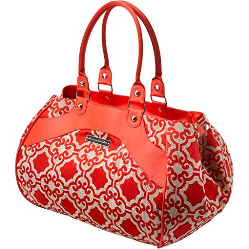 Petunia Pickle Bottom Wistful Weekender In Persimmon Spice front-873197