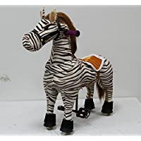 Nepix Ride On Horse No Need Battery No Electric Giddy Up For Children 3 9 Years Old Up To 140 Pound