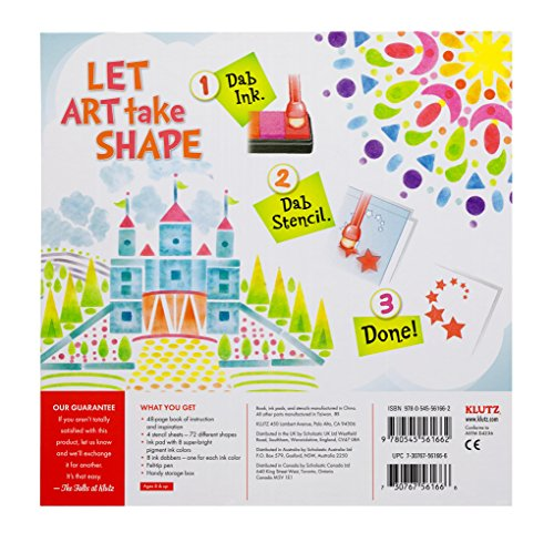 Klutz-Stencil-Art-Book-Kit