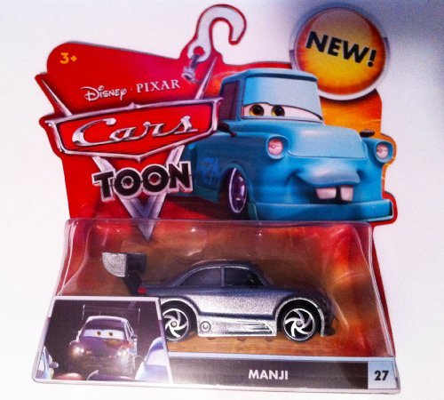 Disney / Pixar CARS TOON 155 Die Cast Car Manji Custom Paint Job - 1