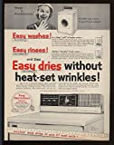 1957 Easy Combomatic Washer Dryer Print Ad (12050)