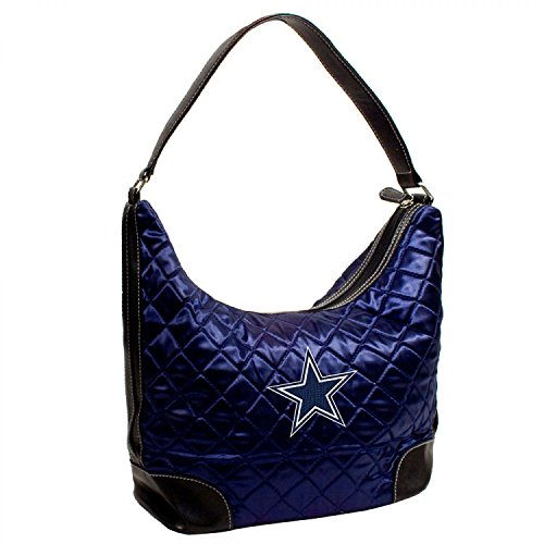 DALLAS COWBOYS NFL QUILTED HOBO (NAVY)