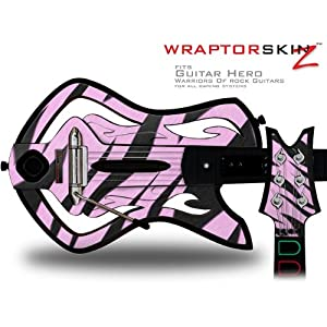 Buy .com: Warriors Of Rock Guitar Hero Skin - Zebra Skin Pink (GUITAR