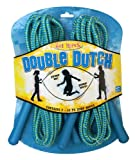 POOF-Slinky 0X0540 POOF Hot Ropes Two Cute! Double Dutch Woven Jump Ropes with Plastic Handles, 14-Foot Length, 2-Pack, Assorted Colors