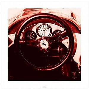 Ferrari F1 Vintage ( 312 F1 66) Poster 15.75x15.75