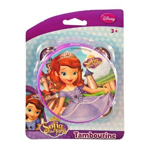Disney Princess Sofia the First Toy Tambourine - 1