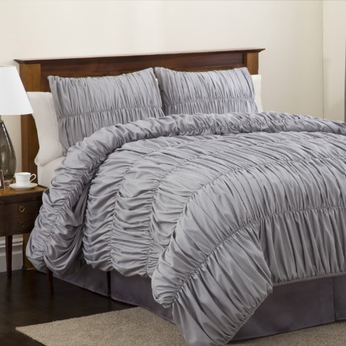 Gray Bedding Sets King 1246 front