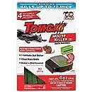 Tomcat Mouse Killer III (Kid Resistant Refillable Mouse Bait Station, Box w/ 4 Bait Blocks)