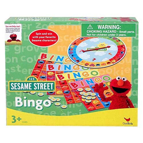 Sesame Street Bingo Game Set