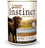 Nature's Variety Instinct Limited Ingredient Diet Grain-Free Duck Formula Canned Dog Food, 13.2 oz. (Case of 12)