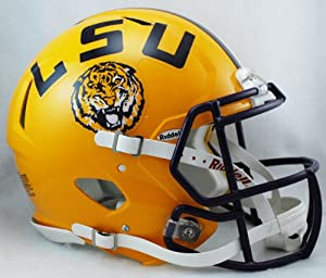 Buy NCAA Riddell LSU Tigers Speed Full-Size Authentic Helmet by Riddell