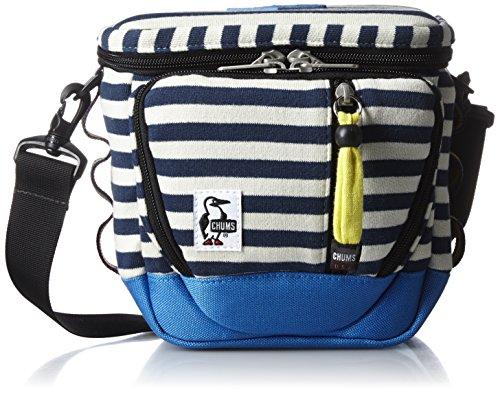 [チャムス] CHUMS カメラバッグ Camera Bag Sweat Nylon CH60-0698 N032 (NVY・Natural/Blue)