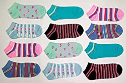 Camey Women's Ankle socks Multicolor (Pack of any 12)