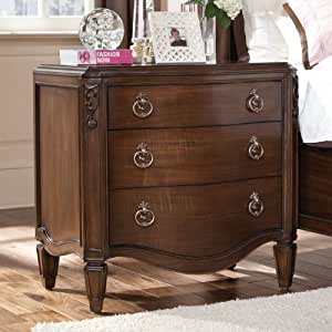 Night Stand With Wood Top