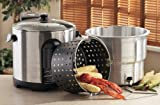 Masterbuilt Stainless Steel Digital Electric Turkey Fryer