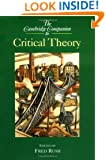 The Cambridge Companion to Critical Theory (Cambridge Companions to Philosophy)