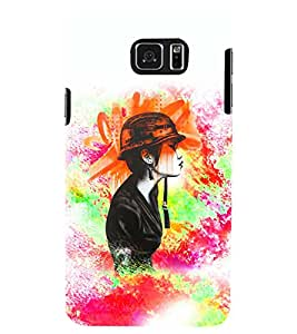 PRINTSWAG BEAUTIFUL GIRL Designer Back Cover Case for SAMSUNG GALAXY NOTE 5 EDGE