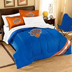 NBA New York Knicks Full Applique Comforter and Sham Set, 76 x 86-Inch by Northwest