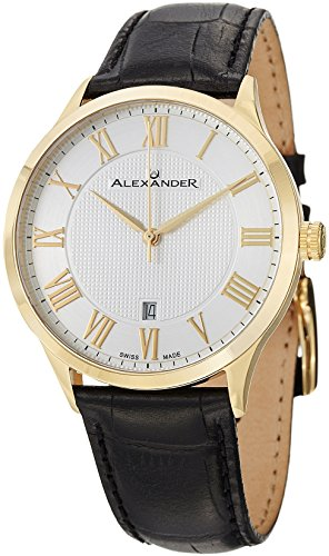 alexander-statesman-triumph-stainless-steel-yellow-gold-tone-case-on-black-embossed-genuine-leather-