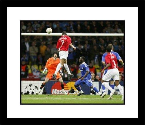 Cristiano Ronaldo Manchester Photograph Champions