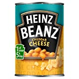 Heinz Beanz Cheddar Cheese 390 g (Pack of 12)