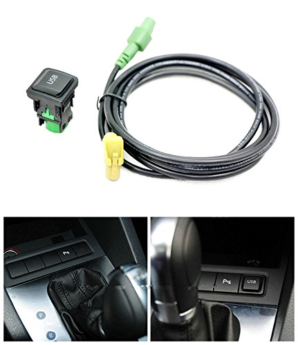 eximtrade-usb-bouton-douille-rns315-rcd510-pour-volkswagen-vw-mk6-golf-6-scirocco-jetta